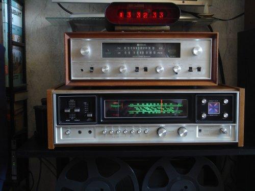 SHARP SA-570H kvadrofón receiver