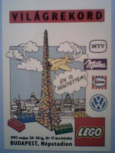 LEGO torony világrekord-kísérlet