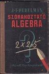 Szórakoztató algebra