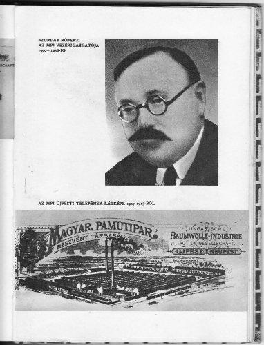 Újpest  Magyar Pamutipar gyára