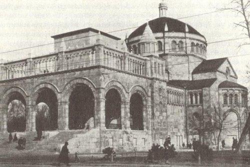 Regnum Marianum templom a városligetben.
