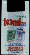 Tomi reklámzacskó
