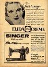 Singer varrógép reklám