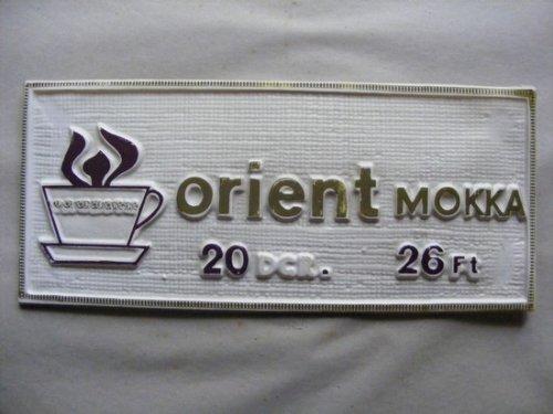 Orient mokka kávé reklám