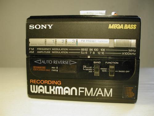 Sony walkman - WM-AF67/BF67