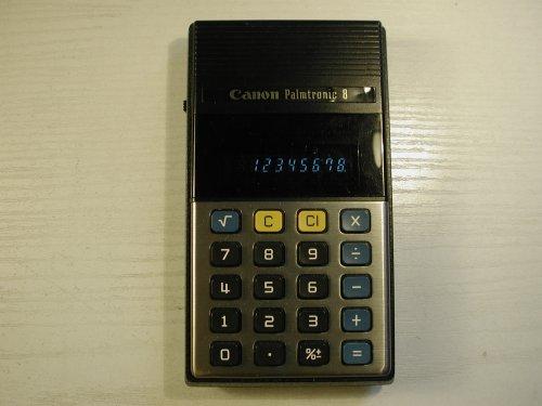 CANON Palmtronic 8 (LD-84) számológép