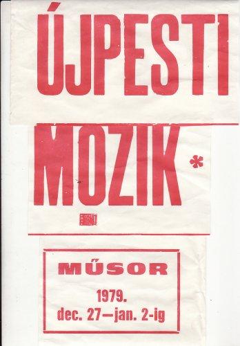 Újpesti moziműsor