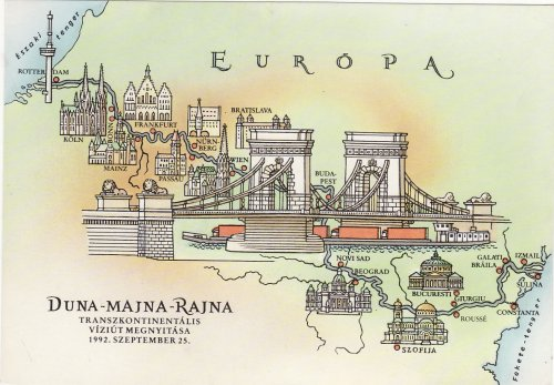 Duna-Majna-Rajna viziút megnyitása