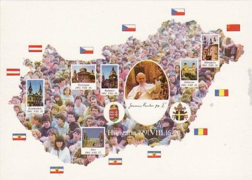 II.János Pál pápa látogatása Magyarországon