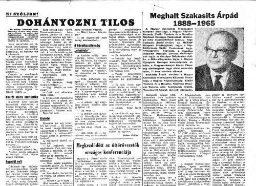 Szakasits Árpád elhunyt