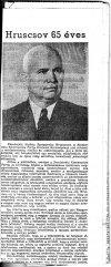 Hruscsov 65 éves