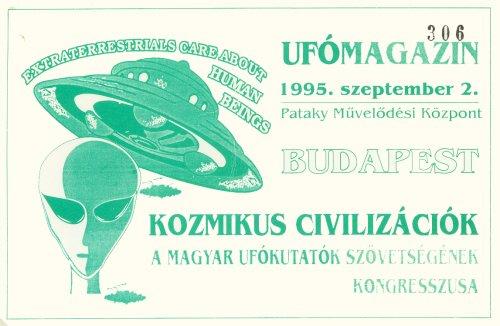 Kozmikus Civilizációk kongresszusi belépő