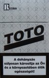 Retro Toto cigaretta