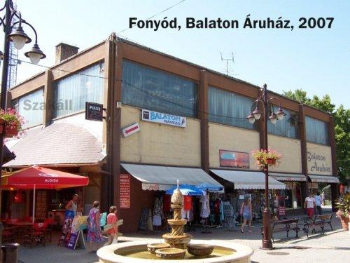 Balaton Áruház - Fonyód