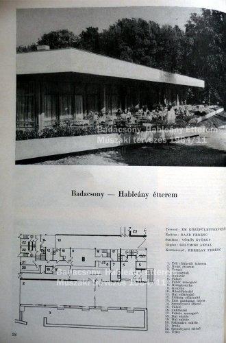 Badacsony Hableány étterem