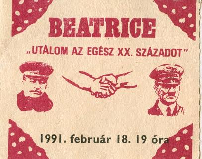 Beatrice koncertjegy