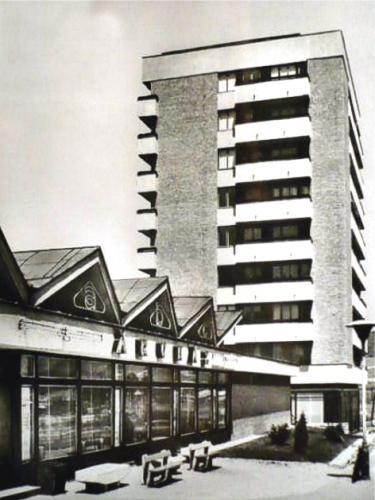 ABC áruház Ózd, Bolyok (egykori Béke-telep)