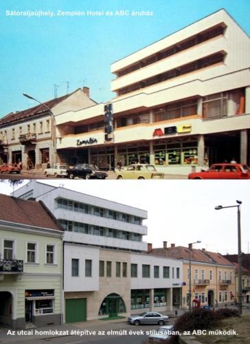 Zemplén Hotel és ABC áruház, Sátoraljaújhely