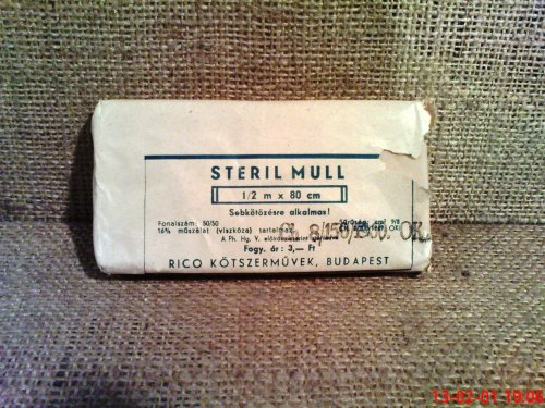 Steril mull