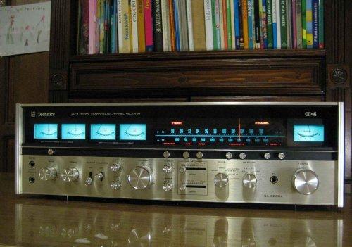 Technics SA-8000X kvadrofón receiver