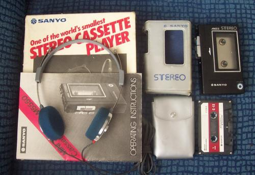 Sanyo walkman M5550