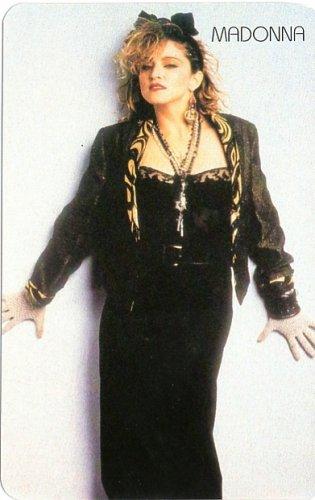 Madonna kártyanaptár