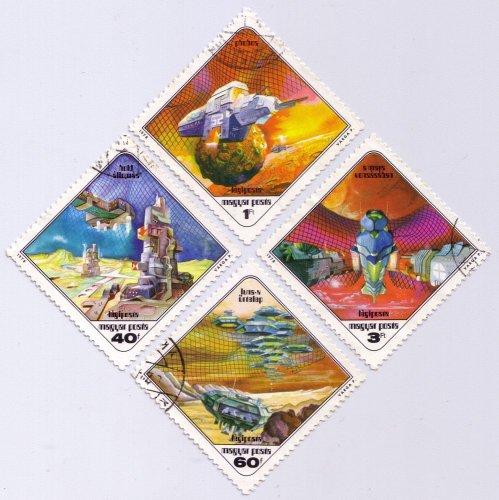 Sci-Fi témájú bélyegek