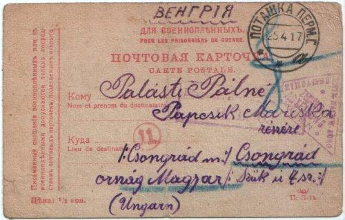 Hadifogság 1917