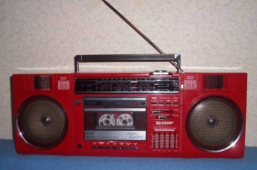 Sharp GF 7650 rádiómagnó