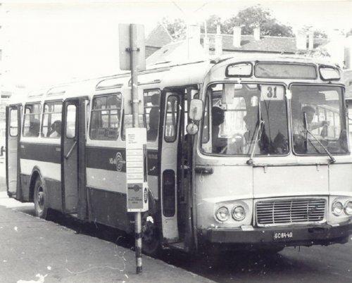 Skoda Karosa busz pécsett a vasútállomáson