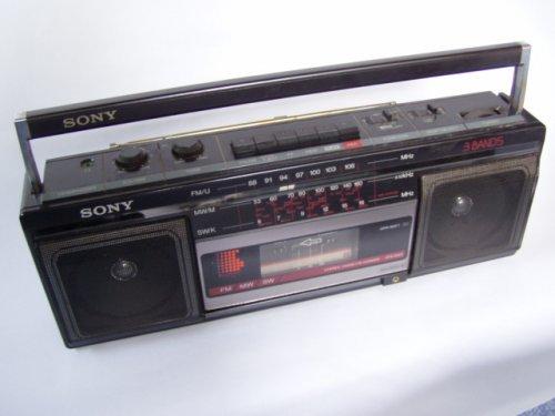 Sony rádiósmagnó