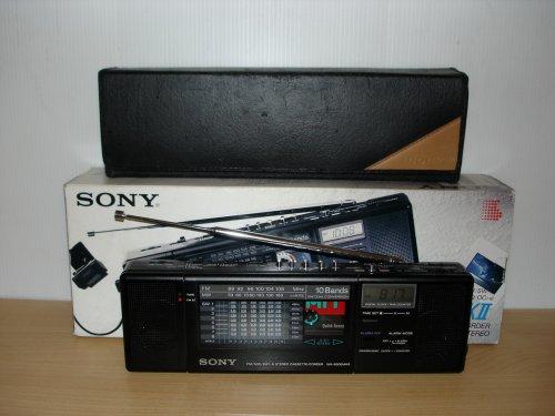 Sony WA8000MKII/8800 világvevő felvevős walkman.