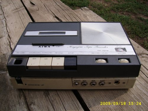 Aiwa Magazine Tape Recorder