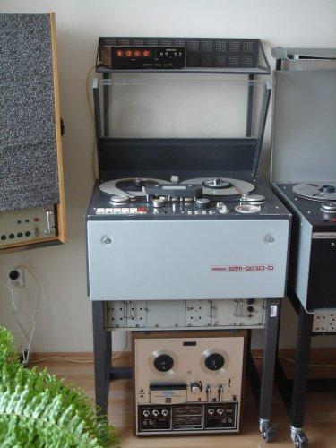 MECHLABOR STM-200 monó stúdiómagnó