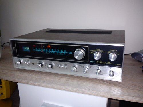 Pioneer QX-4000 kvadrofón rádió-erősítő