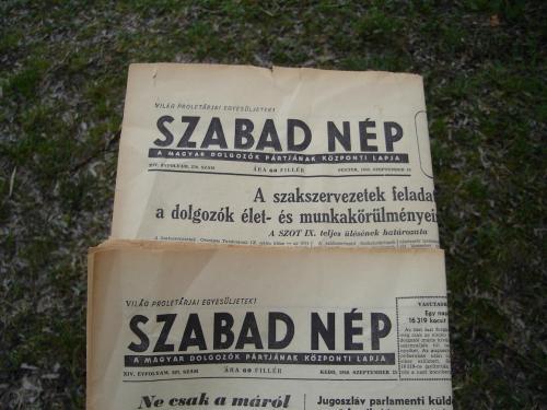 Szabad Nép újság