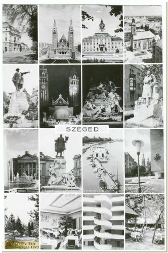 Szeged képeslap