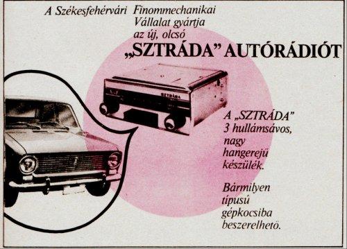 Sztráda Autórádió