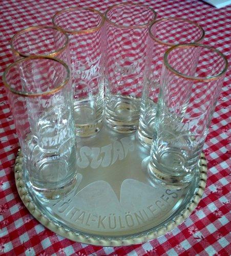 Sztár üdítő poharak