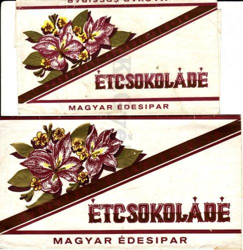 Étcsokoládé csokipapír