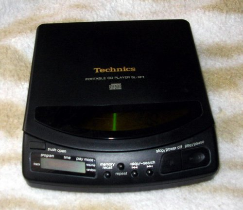technics discman Sl-xp1