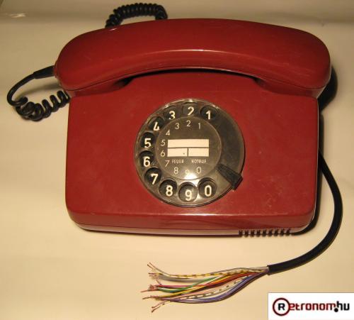 Tárcsás telefon