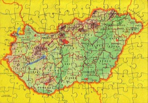 Magyarország puzzle