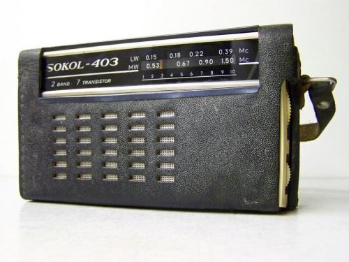 Sokol 403 rádió