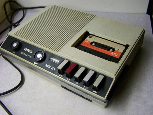 BRG MK 21 magnetofon fehér