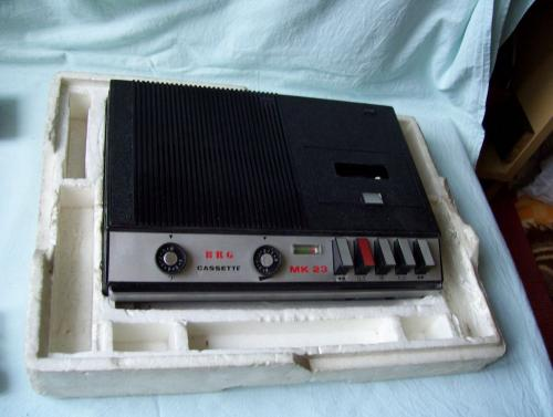BRG MK 23 magnetofon eredeti dobozában