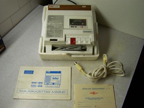 BRG MK 25 magnetofon dobozában
