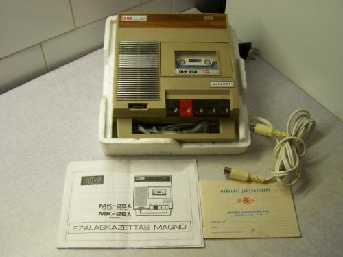 BRG MK 25a magnetofon drapp dobozában