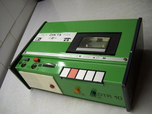 BRG DTR-10 üzenetrögzítő