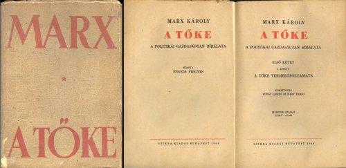 Marx Károly - A Tőke